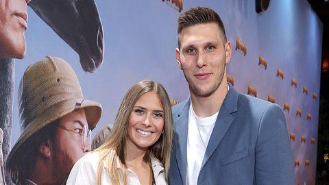 Niklas Süle und Melissa Halter - Foto: Getty Images / Andreas Rentz