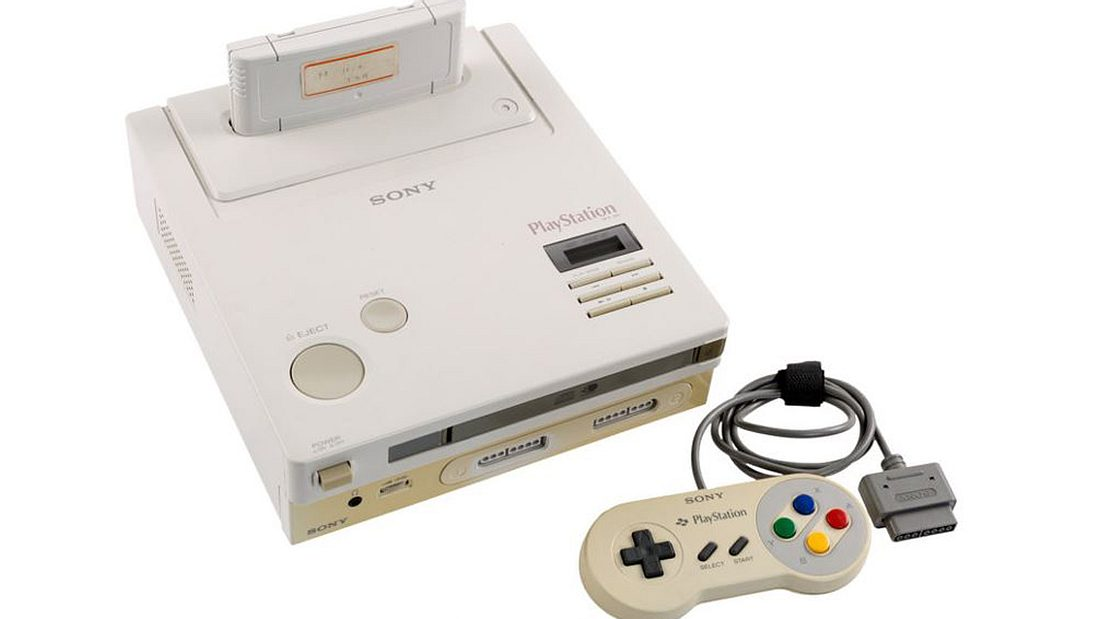 Nintendo Play Station Super NES CD-ROM Prototyp