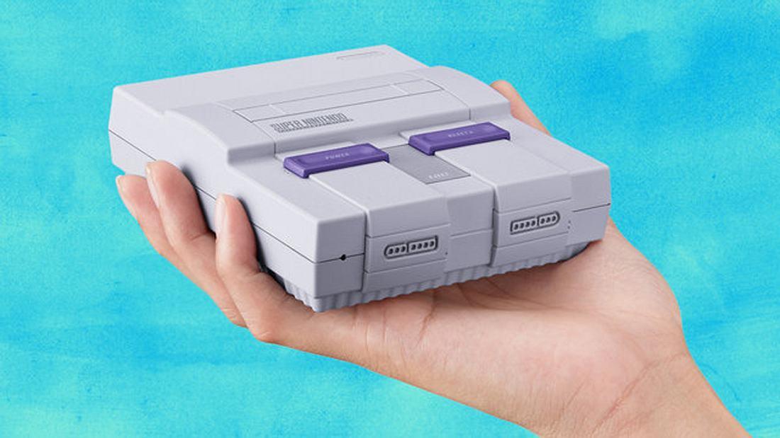 Nintendo kündigt den das SNES Classic Mini für den 29. September 2017 an