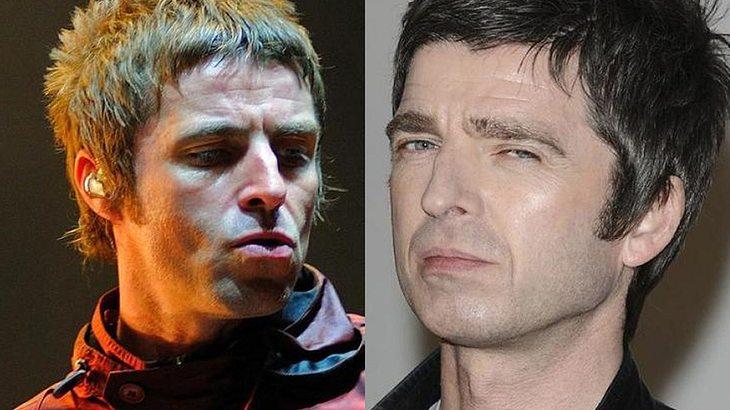 Streithähne: Das Oasis-Brüderpaar Liam und Noel Gallagher