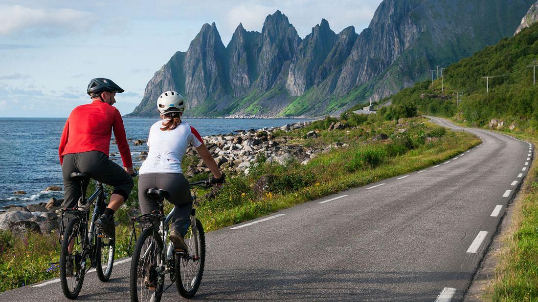 Mit dem Rad durch Norwegen