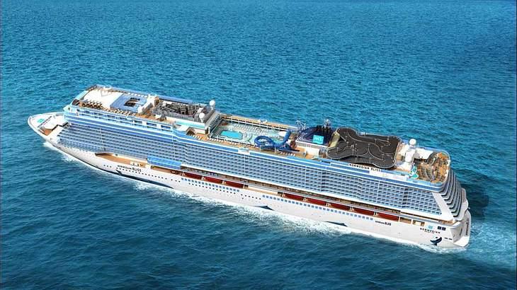 Norwegian Bliss: Dieses Kreuzfahrtschiff hat eine Gokart-Rennstrecke an Deck