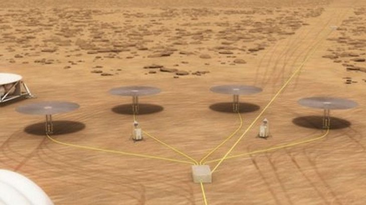 "Mini-Atomreaktor ""Kilopower"" der NASA"