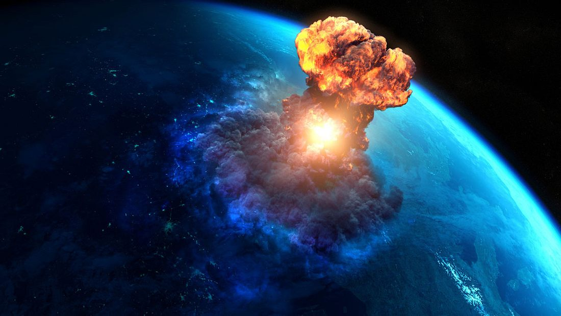 Nuklear-Explosion