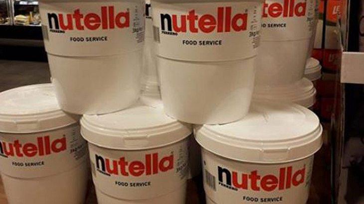 Nutella im Drei-Liter-Eimer