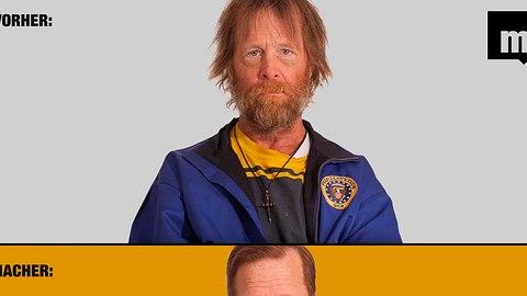 Obdachloser erhält neue Frisur, die sein Leben auf ewig verändert - Foto: Screenshot YouTube / Montage: Männersache