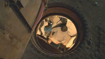Obdachloser baut Luxus-Bunker in Tunnel unter New York