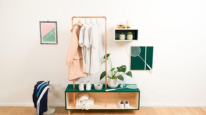 DIY für Wohnzimmer & Co.: Passende Möbelstücke selber gestalten