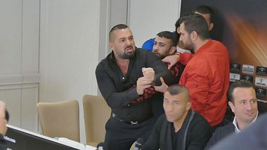 Eklat bei Pressekonferenz: Box-Manager Ahmet Öner rastet aus