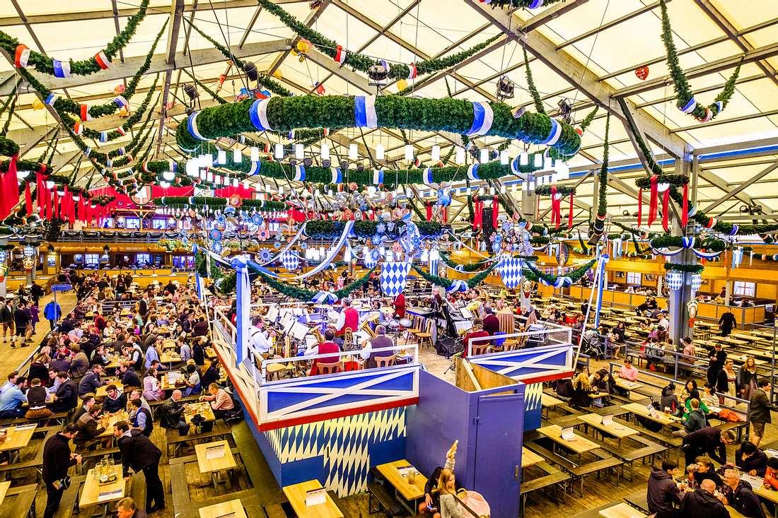 Oktoberfest Zelte