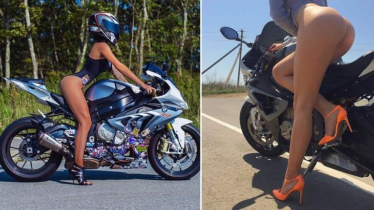 Olga Pronina: Die schönste Bikerin Russlands ist bei einem Motorrad-Unfall ums Leben gekommen
