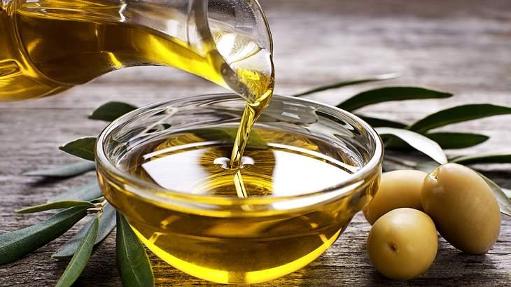 Olivenöl wird in der mediterranen Küche als Hauptfett-Quelle genutzt