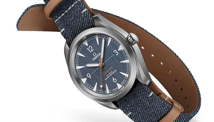 Neues Omega-Modell: Luxus trifft Leder & Denim