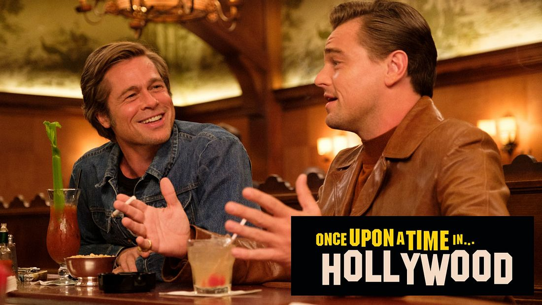 Brad Pitt und Leonardo DiCaprio in Once Upon a Time in Hollywood.
