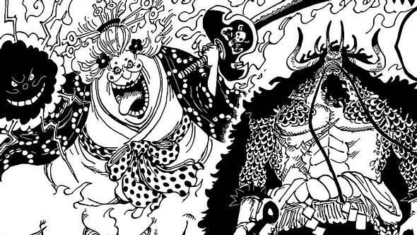 Big Mom und Kaido in One Piece - Foto: Shonen Jump / Eiichiro Oda