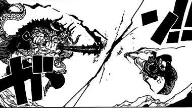 Kaido gegen Ruffy - Foto: Shonen Jump / Eiichiro Oda