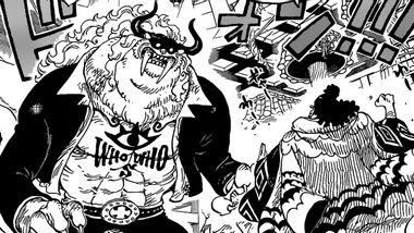 Ausschnitt aus One Piece 1017 - Foto: Shonen Jump / Eiichiro Oda