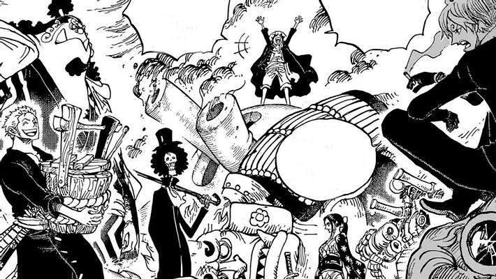 One Piece Kapitel 978 - Foto: Shonen Jump / Eiichiro Oda