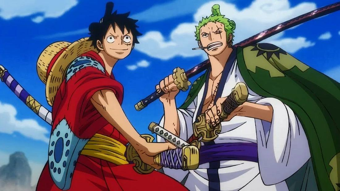 One Piece Ruffy und Zorro