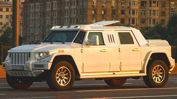 Die 10 teuersten SUV der Welt