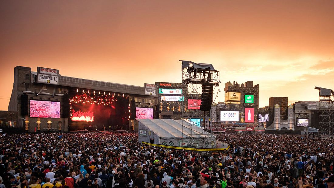 Openair Frauenfeld: Europas größtes Hip-Hop-Festival