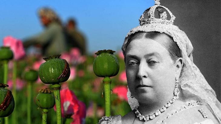 Queen Victoria überschwämmte China mit Opium