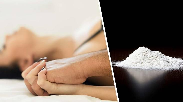 Kokain durch Oralsex verabreicht