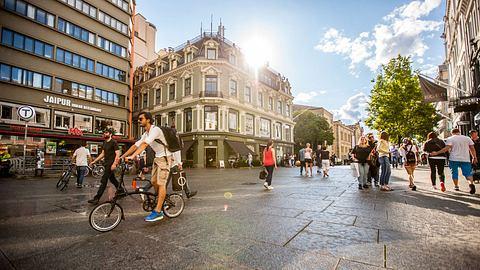 Oslo ist eine durchaus entspannte Stadt. - Foto: iStock/anouchka
