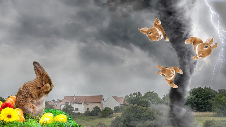 Der Oster-Orkan kommt