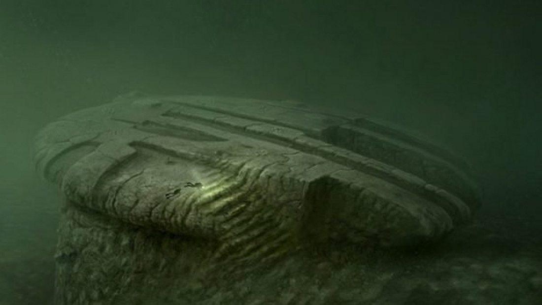 Ein UFO am Meeresgrund?