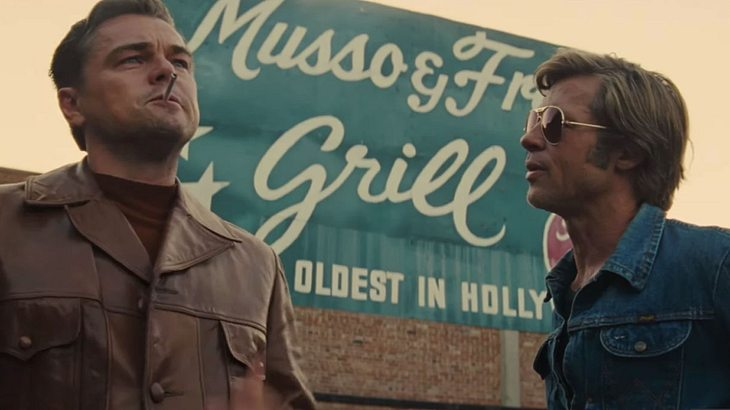 """Pitt und DiCaprio in """"Once Upon A Time In Hollywood"""""""