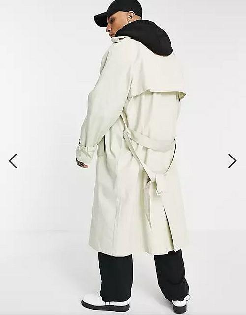 Trenchcoat Herren Oversized, Asos Design