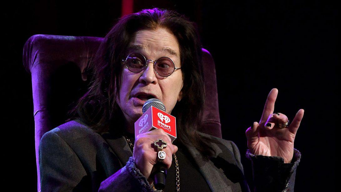 Ozzy Osbourne: Parkinson!