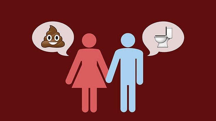 Paare, die über ihren Toilettengang reden sind glücklicher