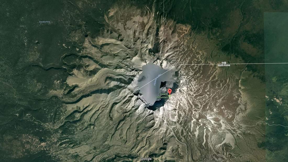Der Mount Paektu ist ein schlafender Supervulkan