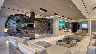 Architekt integriert Supersportler in Luxusimmobilie