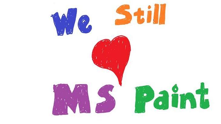 Nostalgie: MS Paint wird nicht weiterentwickelt