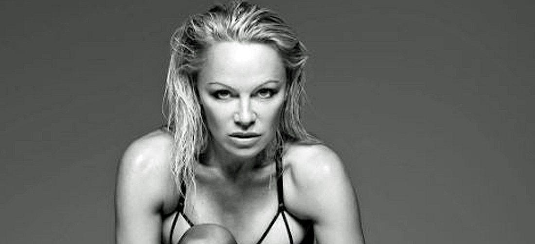 Pamela Anderson posiert in sexy Unterwäsche des Londoner Dessous-Labels Coco de Mer