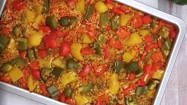 Paprika-Reis aus dem Ofen - Foto: lecker.de