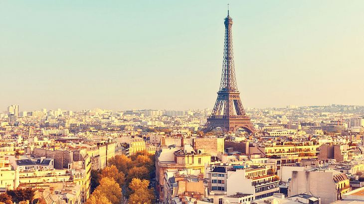 Sehenswürdigkeiten in Paris.