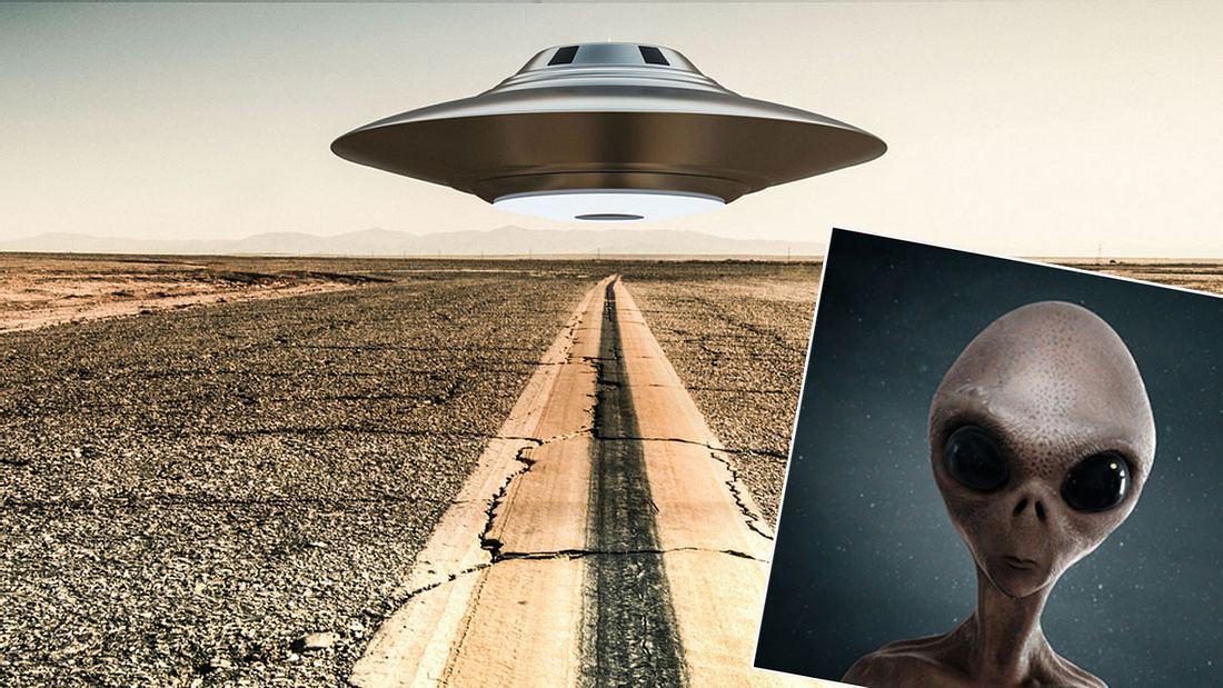 Wissenschaftler gehen von der Existenz außerirdischen Lebens auf der Erde aus (Symbolbild/Collage)