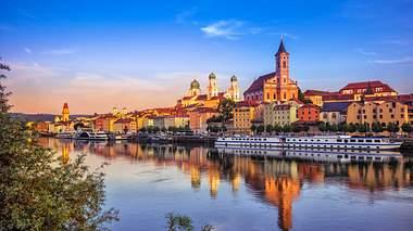 Passau ist einfach malerisch - Foto: iStock / Juergen Sack
