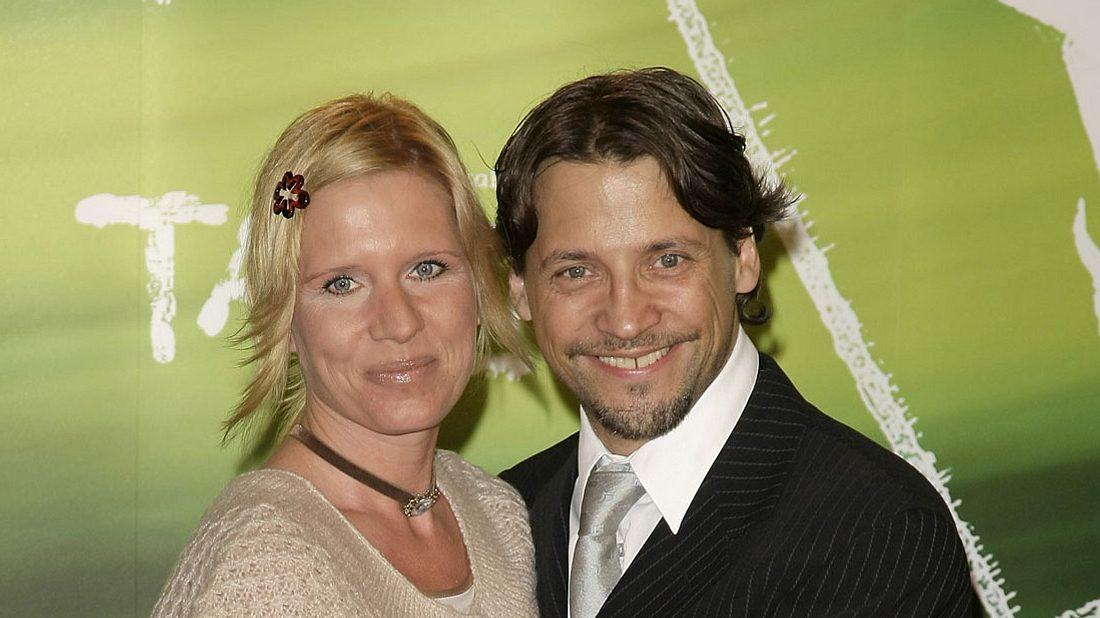 Patrick Bach mit seiner Ehefrau Carola.