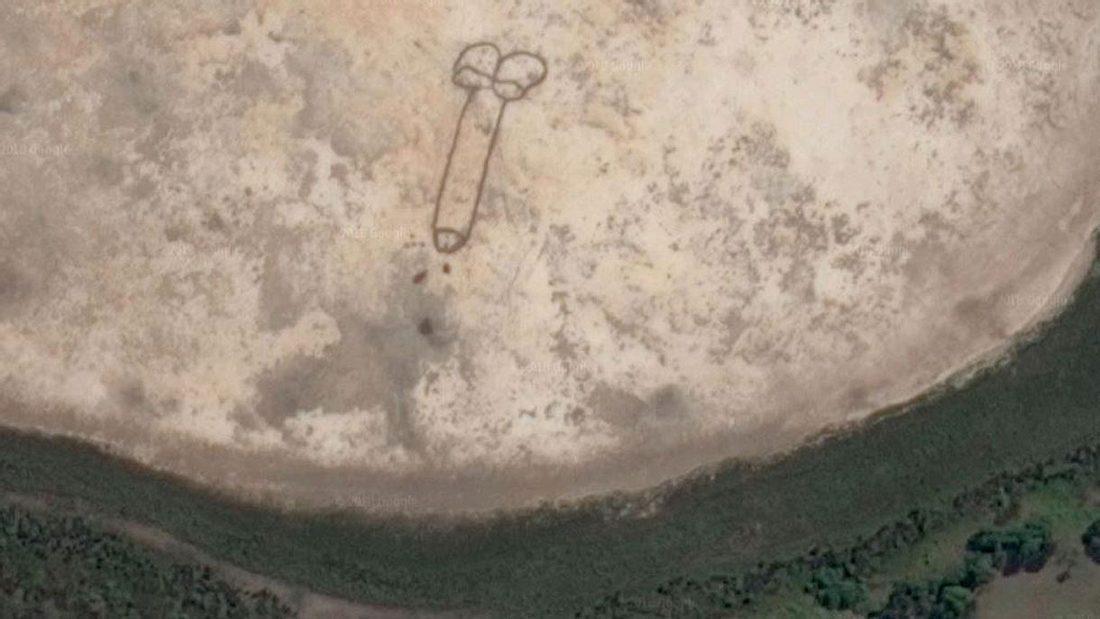 Ein riesiger Penis in Australien