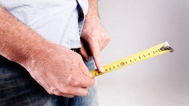 Penislängenmessung - Foto: iStock / RapidEye