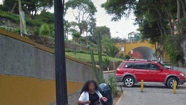 Wegen dieses Google-Maps-Fotos reichte ein Ehemann die Scheidung ein. - Foto: Google Maps