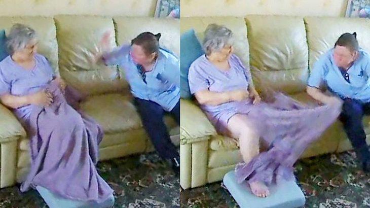 Demenzkranke von Pflegerin geschlagen – Tochter muss hilflos zusehen