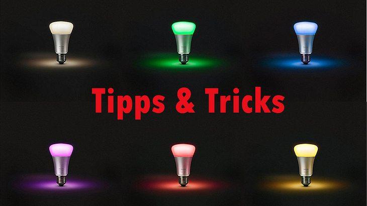 Philips Licht Hue : Philips hue tipps tricks männersache