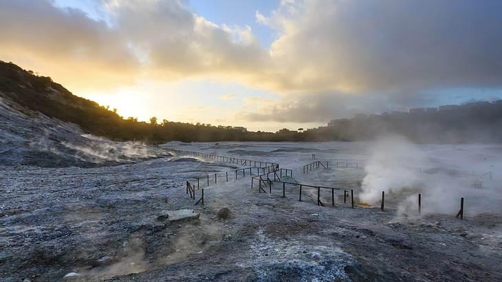 Alarmstufe Gelb: Dieser Supervulkan ist beunruhigend aktiv