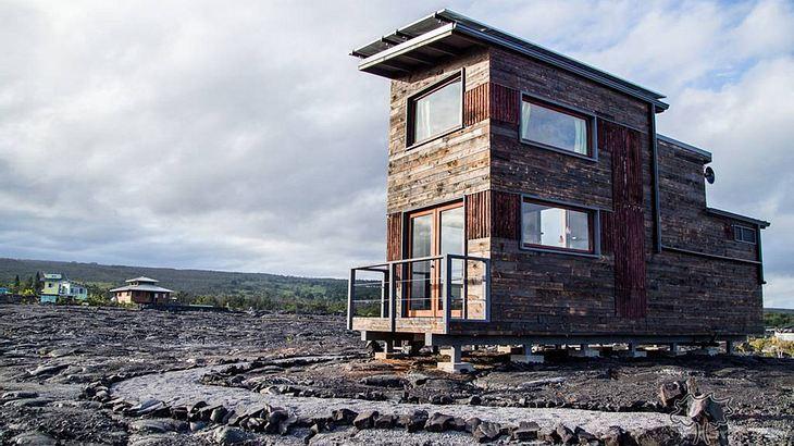 Spiel mit dem Feuer: Dieses Haus steht auf einem aktiven Vulkan